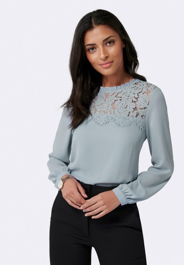 женская блузка forever new, голубая