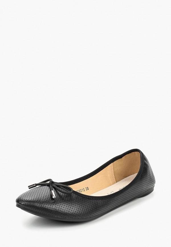 женские балетки t.taccardi, черные