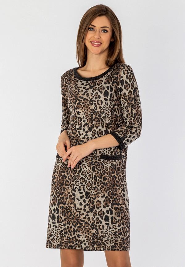 женское повседневные платье s&a style, бежевое