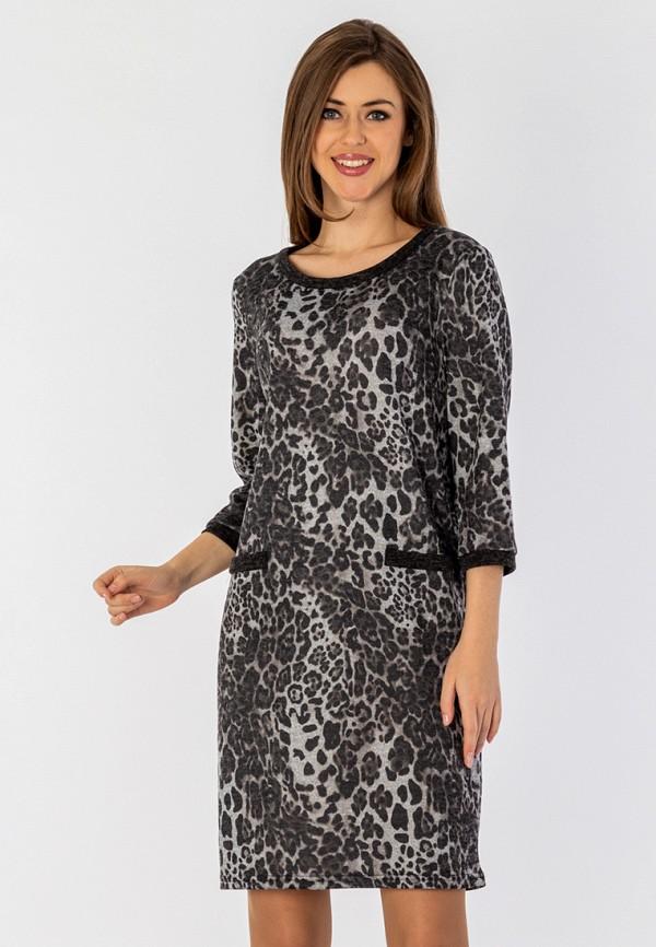 женское повседневные платье s&a style, серое