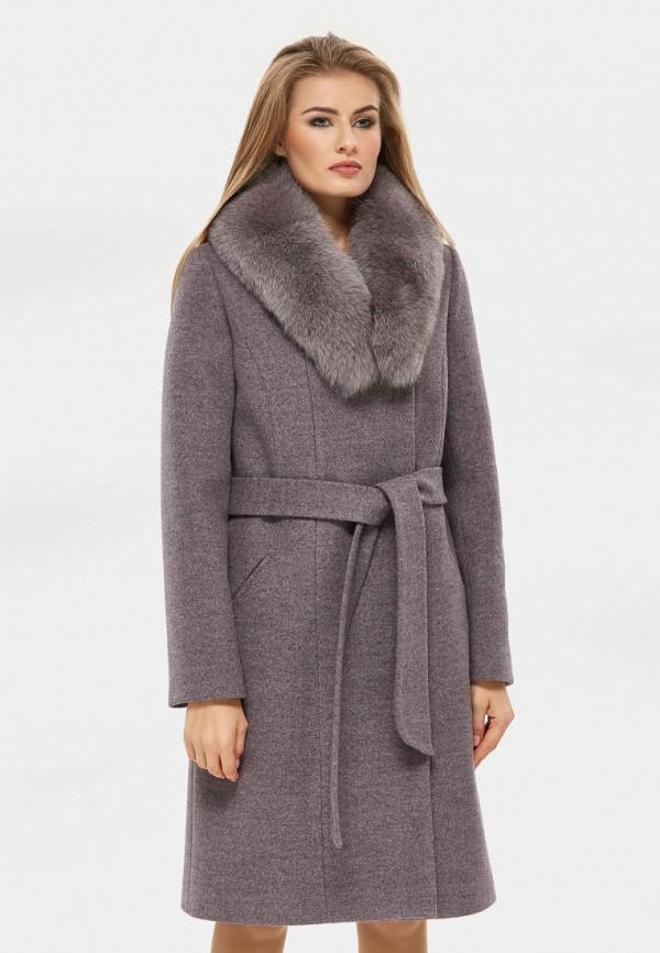 женское пальто danna, фиолетовое