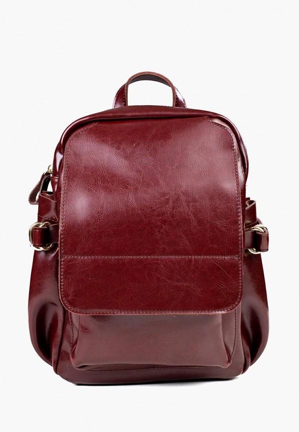 женский рюкзак royalbag, бордовый