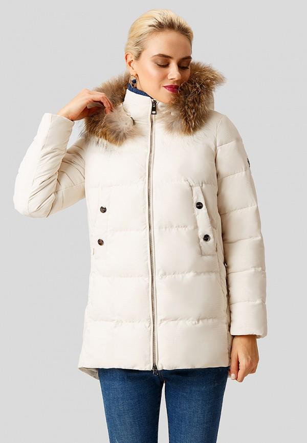 женская куртка finn flare, бежевая
