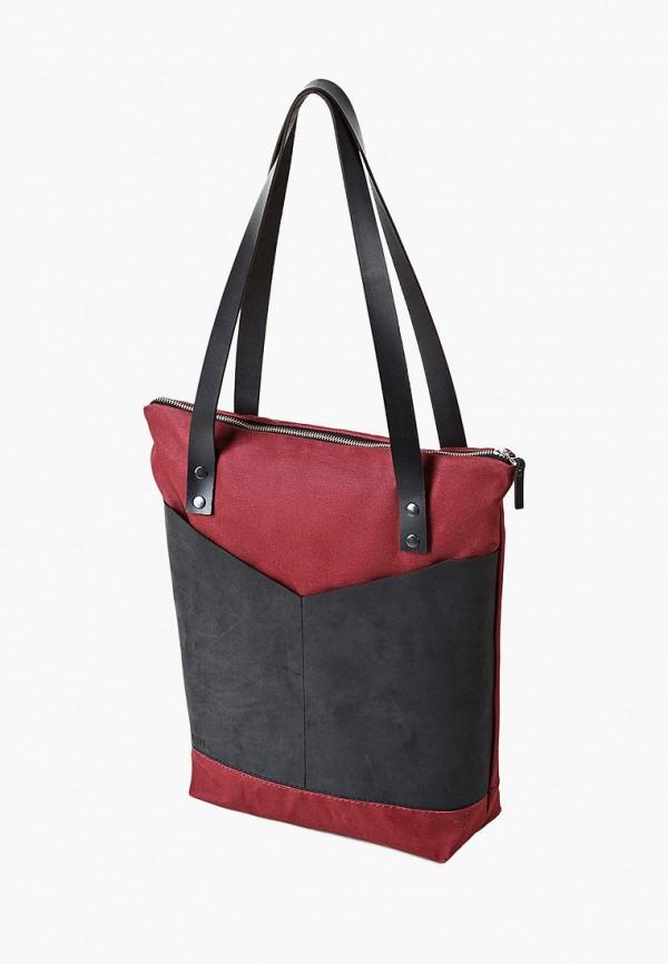 женская сумка minnim, бордовая