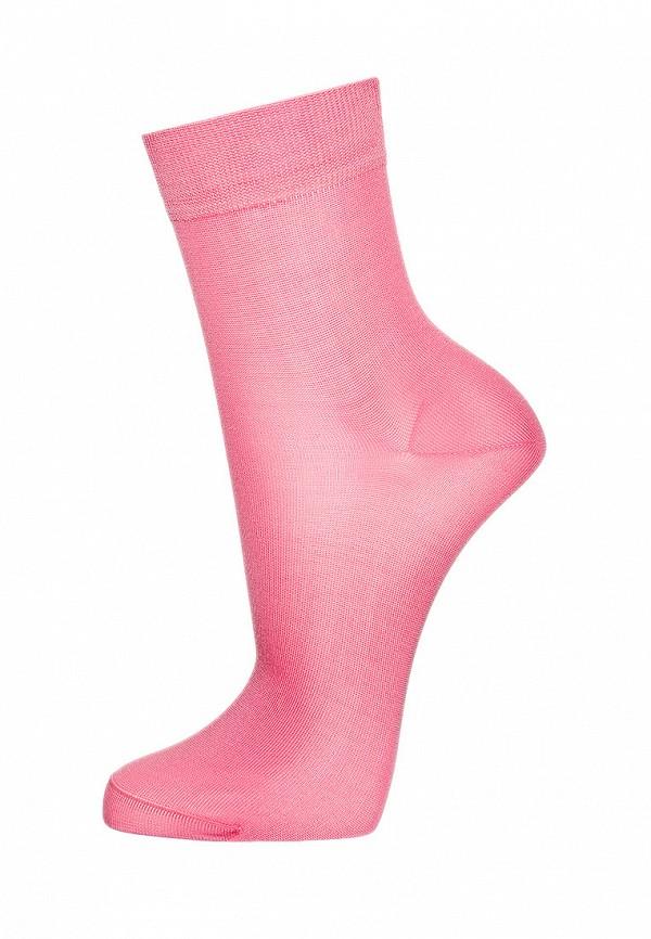 женские носки askomi, розовые