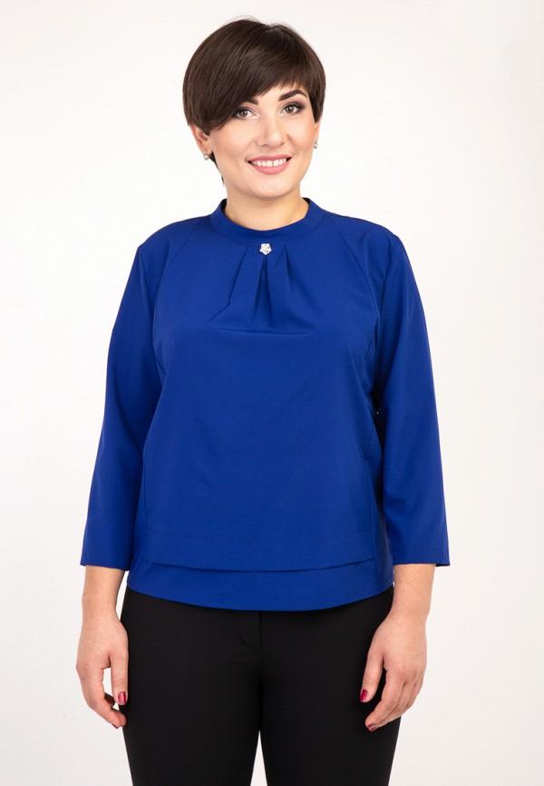 женская блузка das, синяя