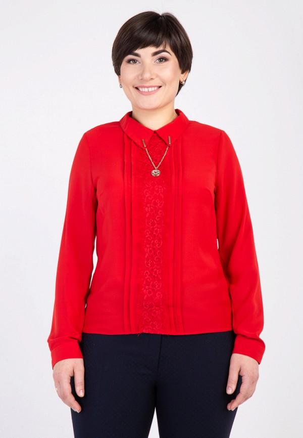 женская блузка das, красная