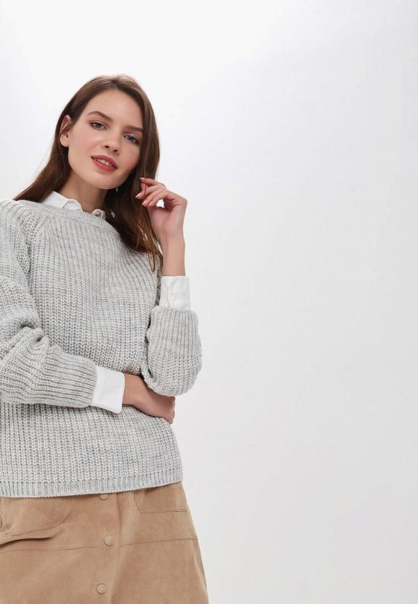 женский свитер leotex, серый