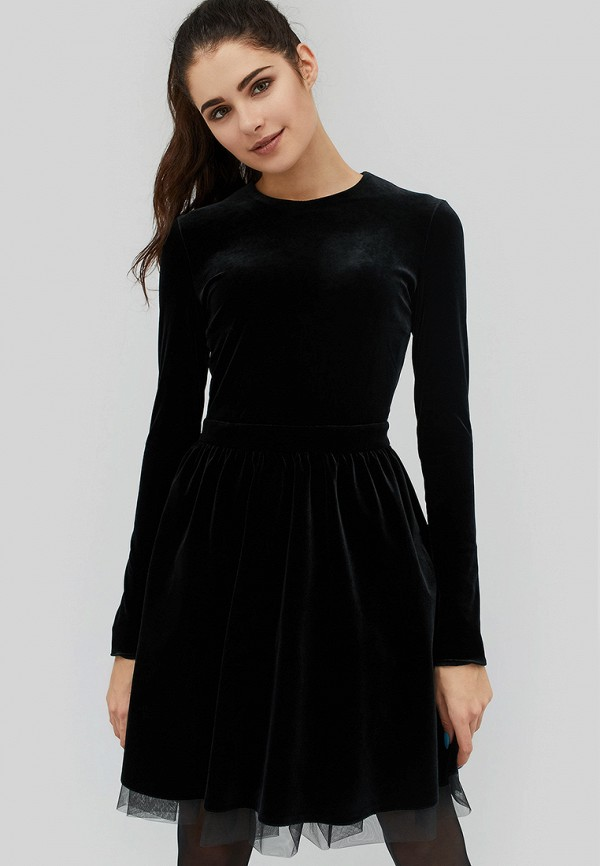 Купить Платье Cardo, mp002xw1hjle, черный, Осень-зима 2018/2019