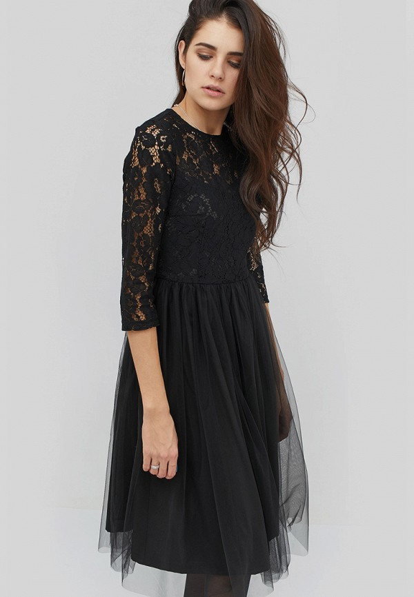женское вечерние платье cardo, черное