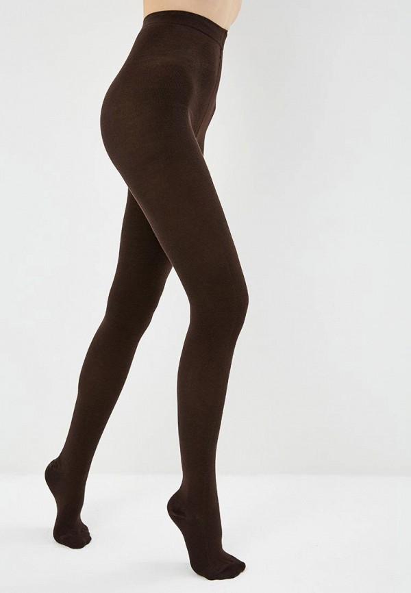 женские колготки conte elegant, коричневые