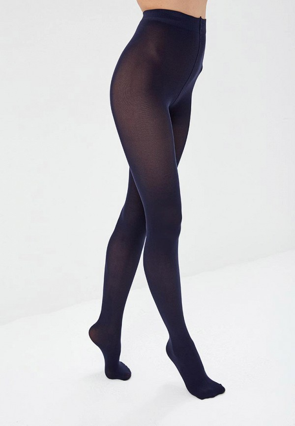 женские колготки conte elegant, синие