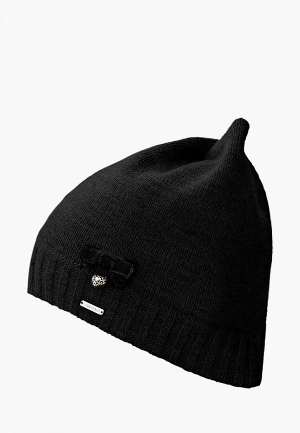 женская шапка finn flare, черная