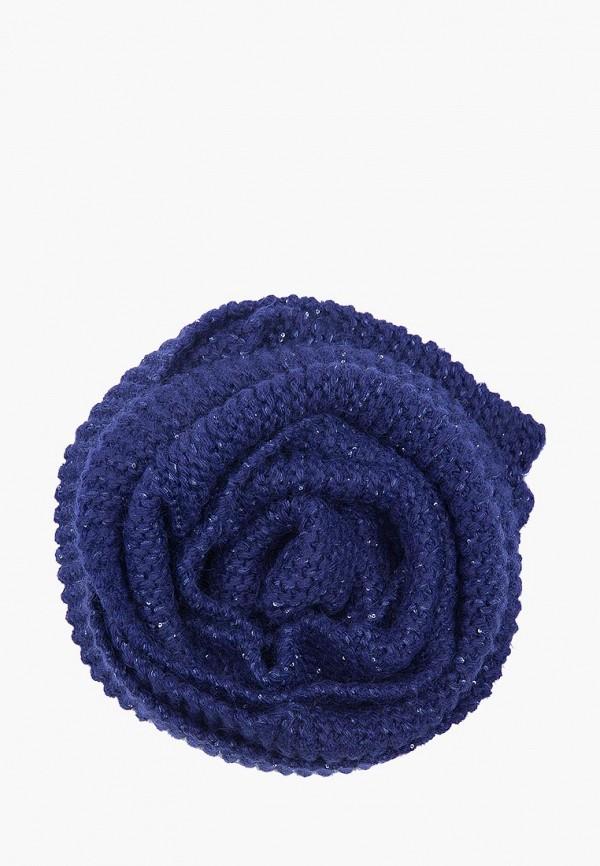 женский шарф finn flare, синий