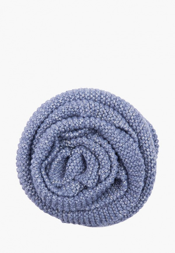 женский шарф finn flare, голубой
