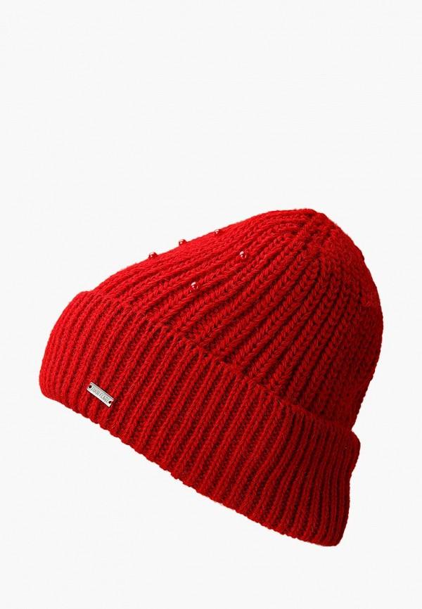 женская шапка finn flare, красная
