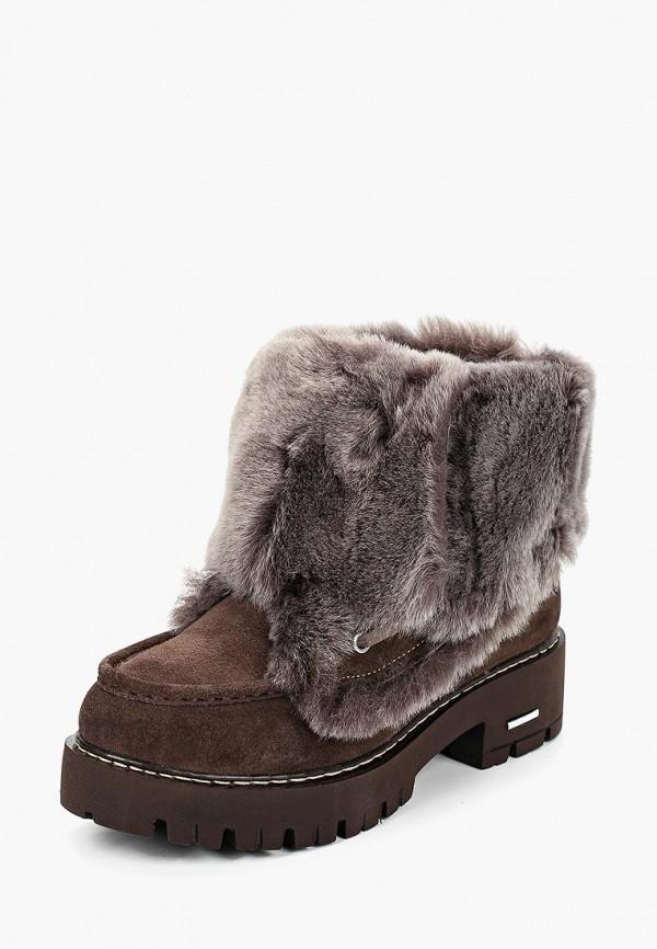 женские ботинки vitacci, коричневые