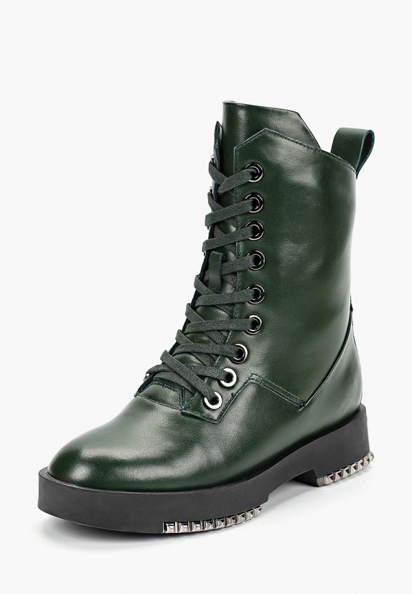 женские ботинки vitacci, зеленые