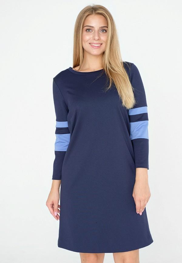 женское платье миди eliseeva olesya, синее