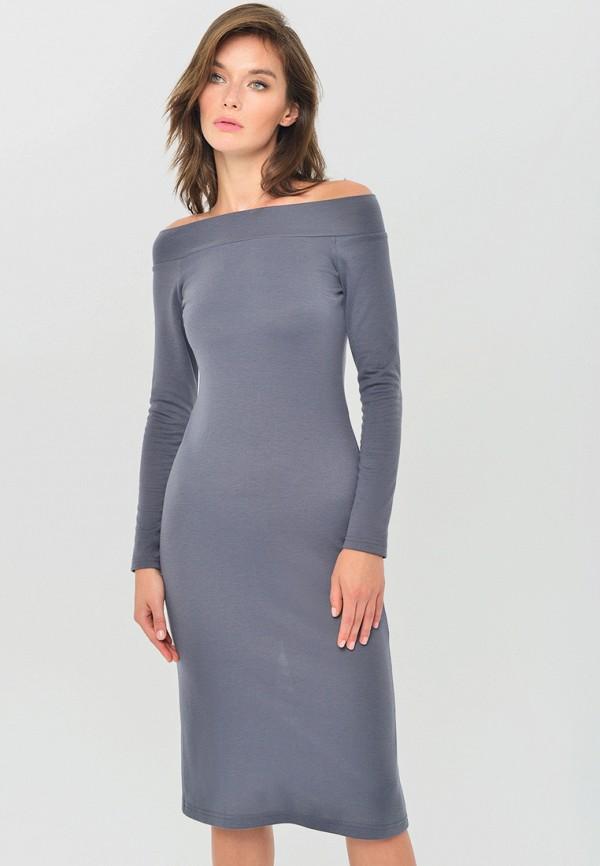женское платье mondigo, серое