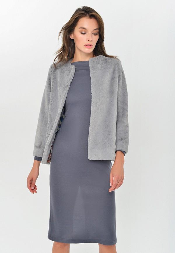 женский жакет mondigo, серый