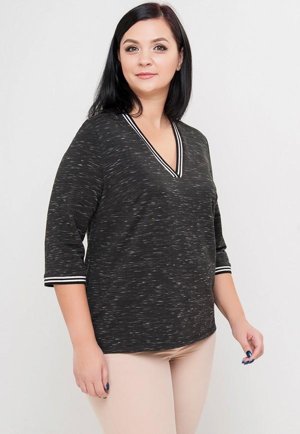 женский пуловер limonti, черный