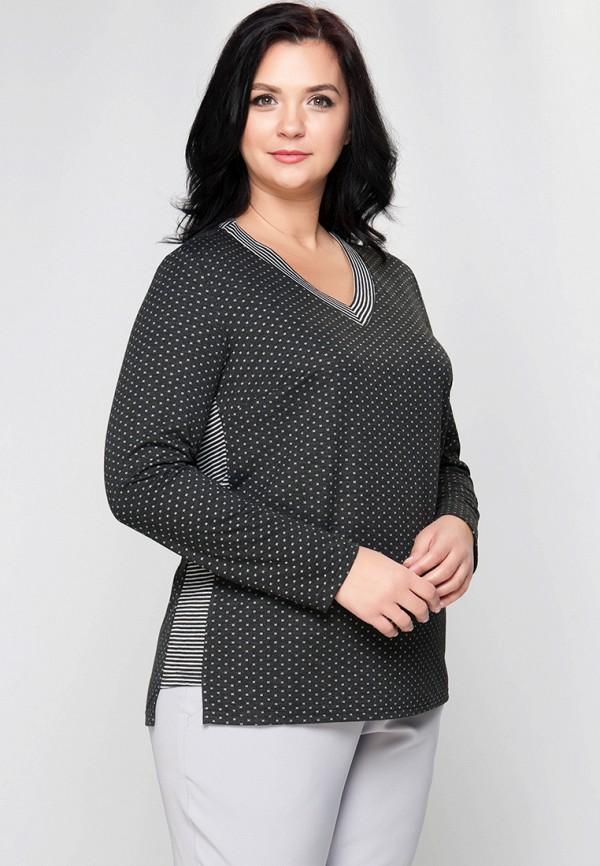 женский пуловер limonti, серый