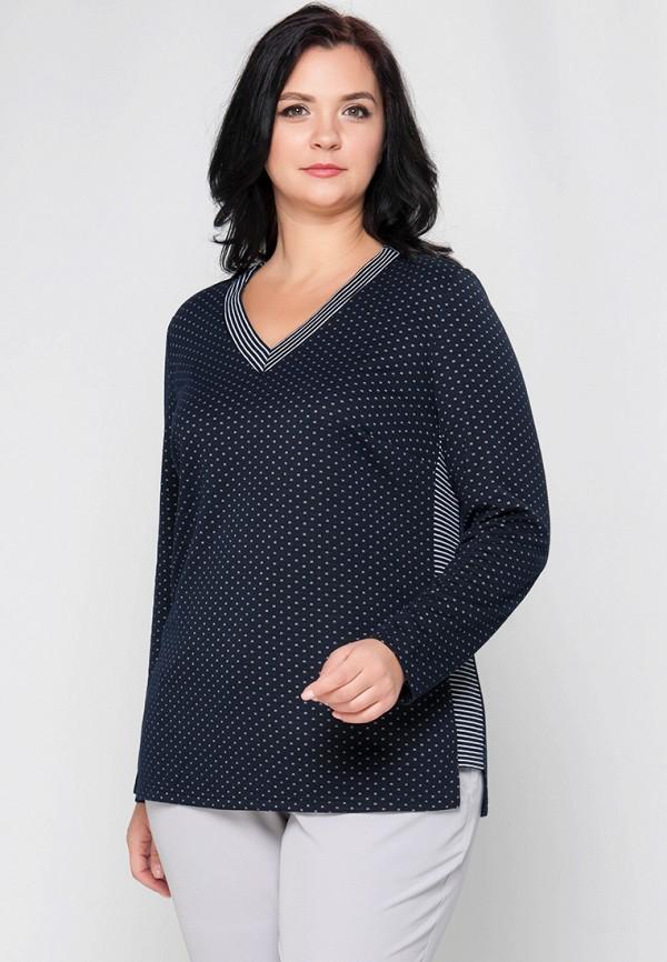 женский пуловер limonti, синий
