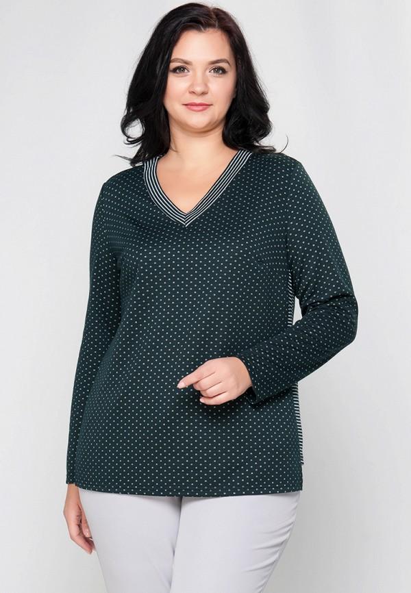 женский пуловер limonti, зеленый
