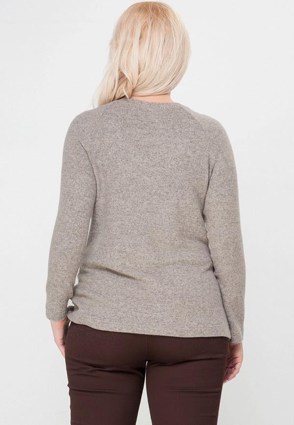 Фото 3 - Пуловер Limonti бежевого цвета