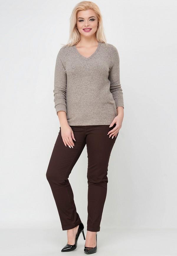 Фото 2 - Пуловер Limonti бежевого цвета