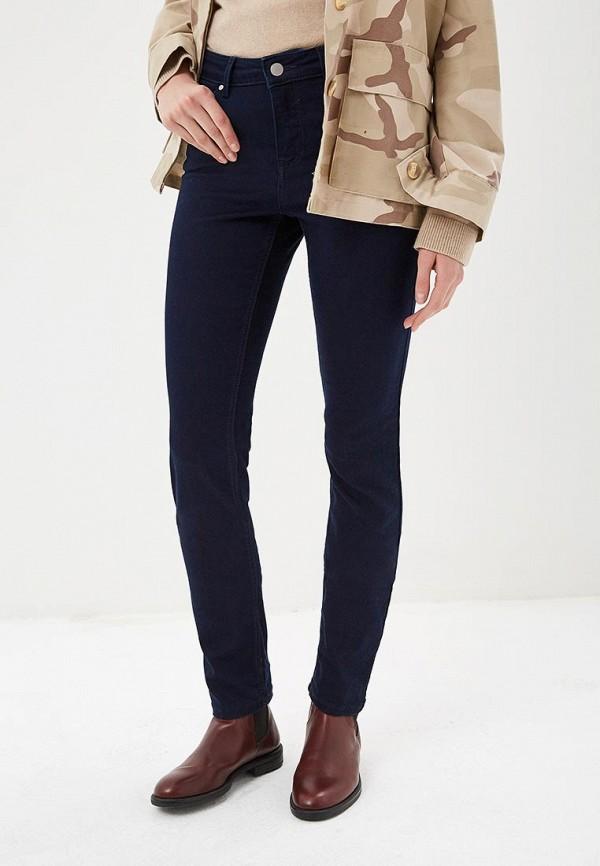женские прямые джинсы conte elegant, синие