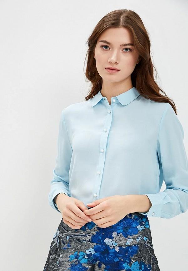 женская блузка incity, голубая