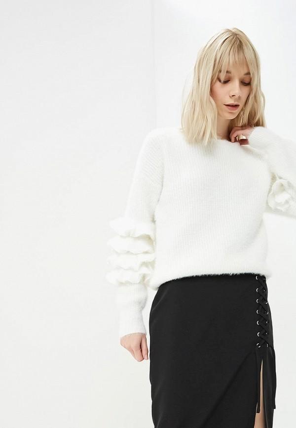 Джемпер  белый цвета