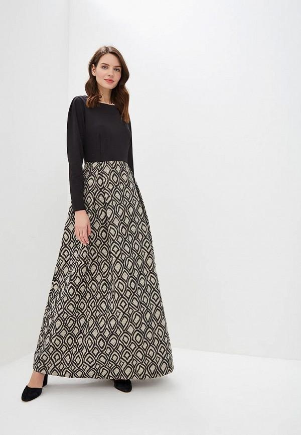 женское вечерние платье sahera rahmani, черное