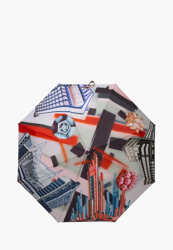 женский зонт eleganzza, серый
