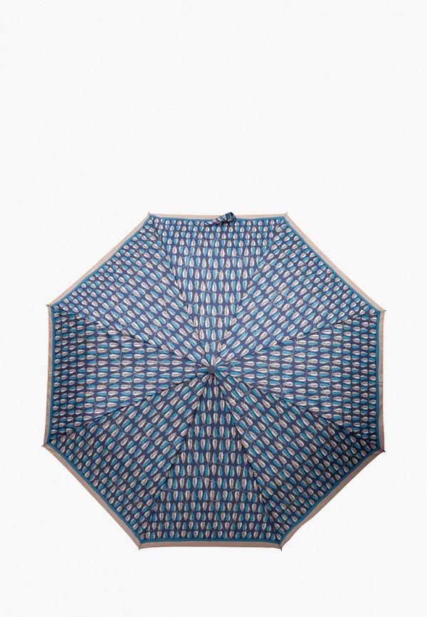 женский зонт labbra, синий