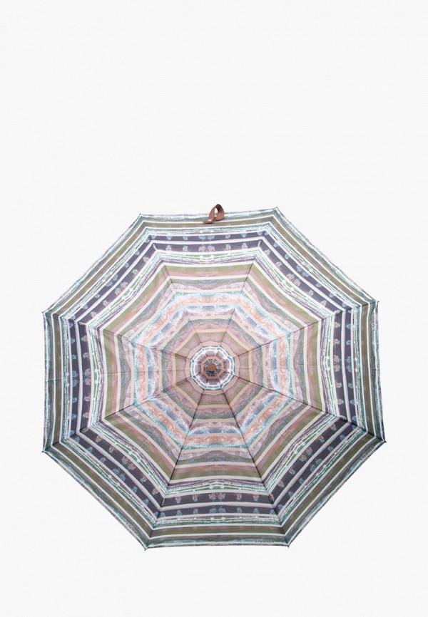 женский складные зонт labbra, серый