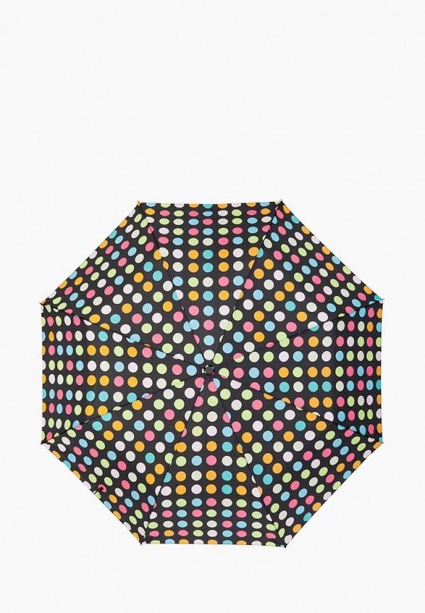 женский зонт labbra, черный