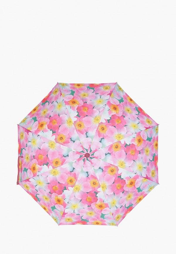 женский зонт labbra, розовый