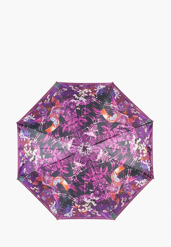 женский зонт eleganzza, фиолетовый