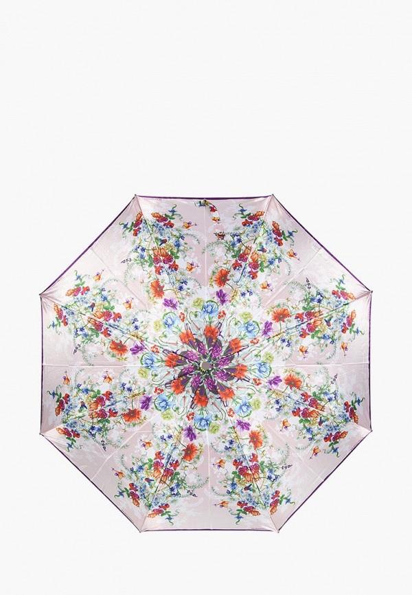 женский зонт eleganzza, бежевый