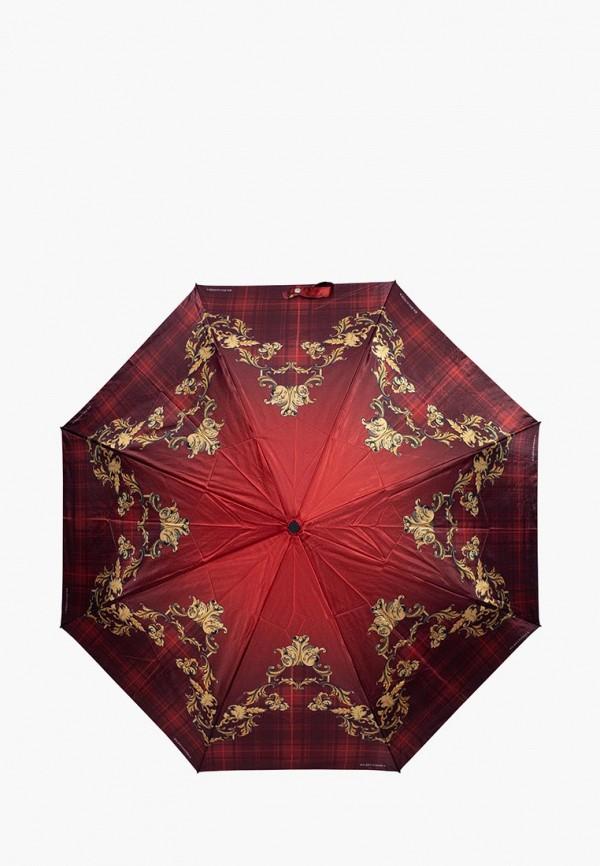 женский зонт eleganzza, красный