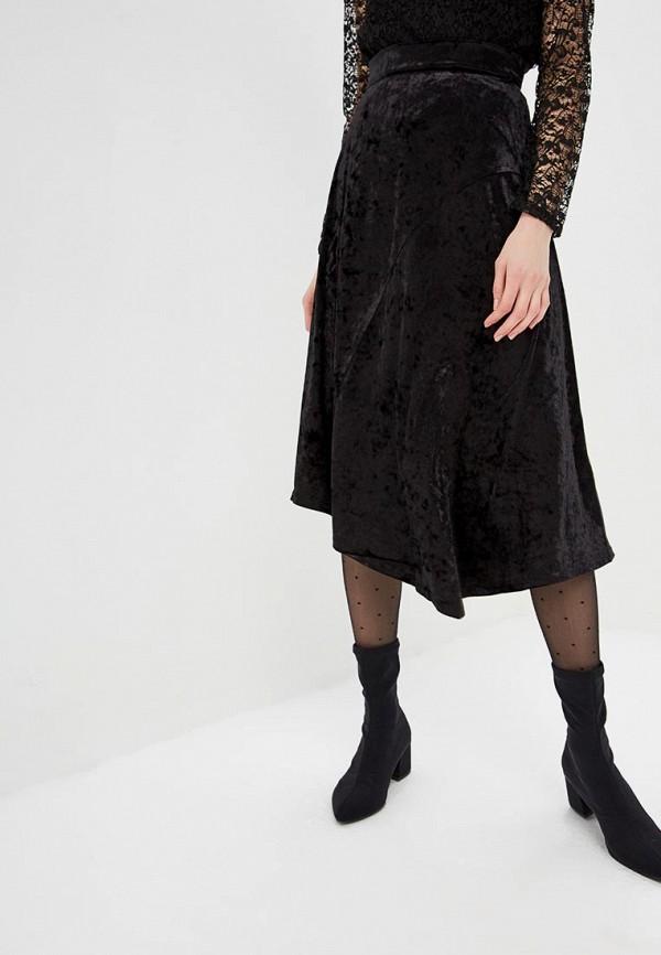 женская юбка mondigo, черная
