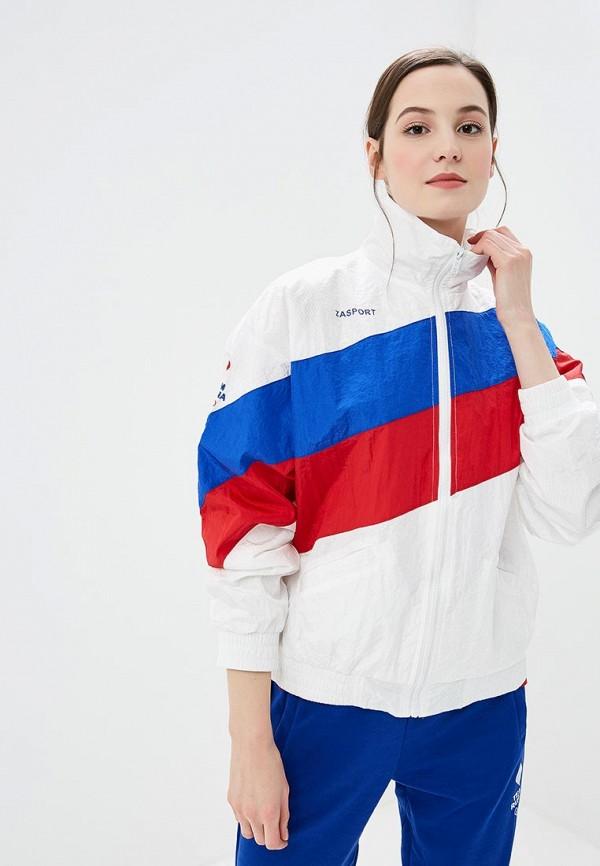 женская ветровка zasport, белая