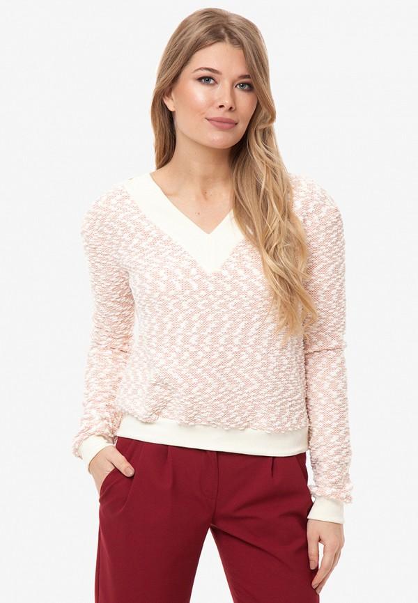 женский пуловер gloss, розовый
