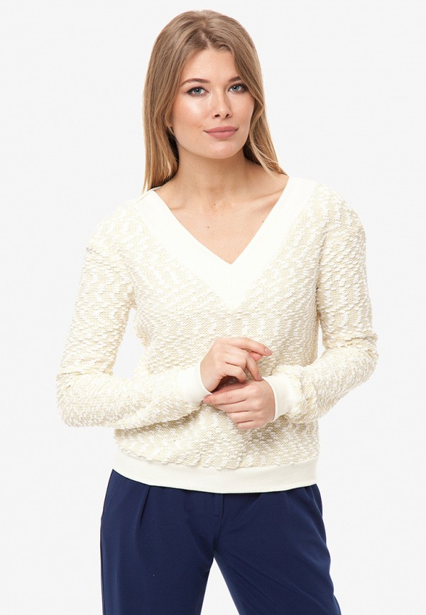 женский пуловер gloss, бежевый