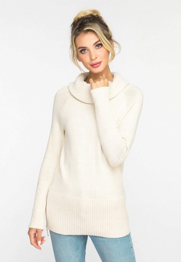 женский свитер gloss, бежевый