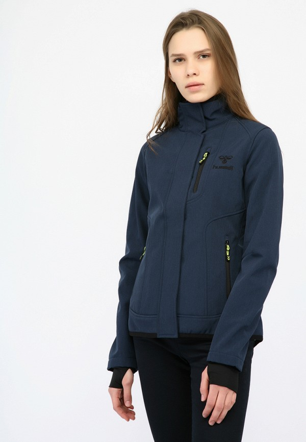 Фото - Куртку Hummel синего цвета