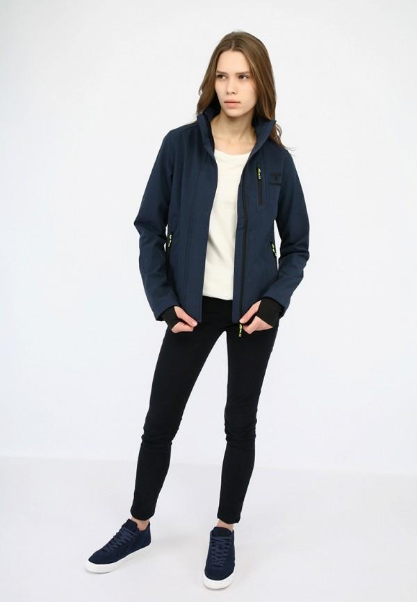 Фото 2 - Куртку Hummel синего цвета